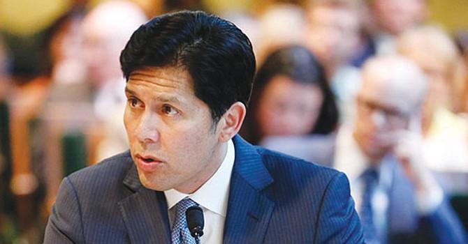 Kevin de León, presidente Pro-Tempore del Senado