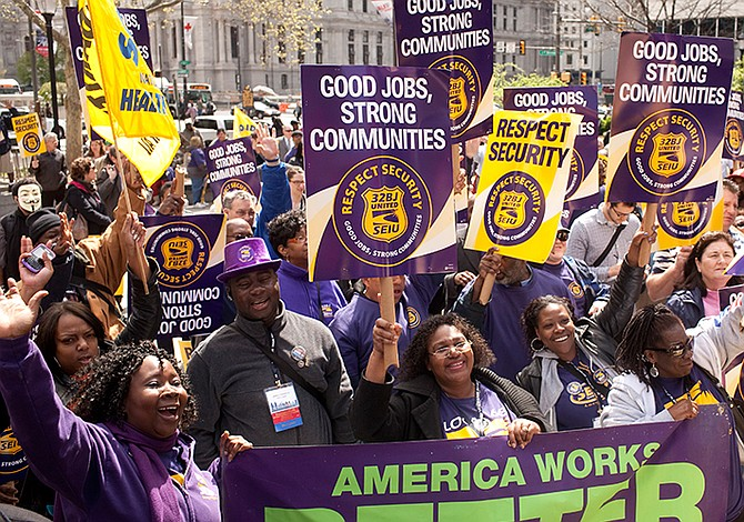 32BJ seiu's statement on Trump's budget