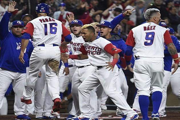 Puerto Rico derrotó a Estados Unidos y eliminó a Venezuela del CMB