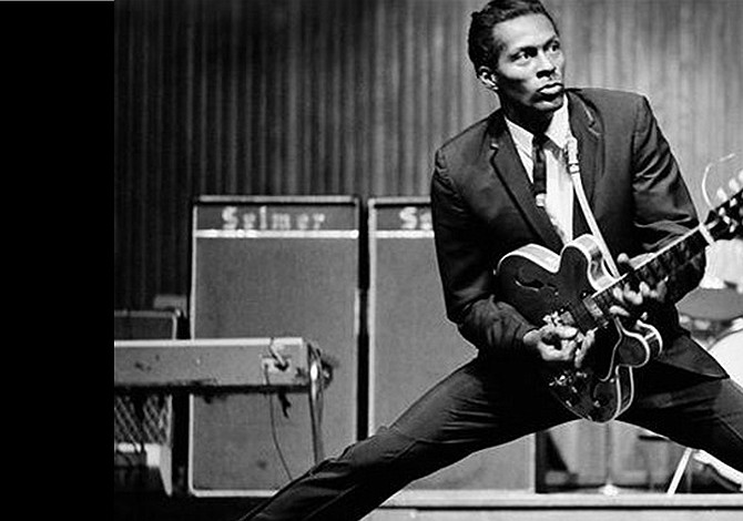 Chuck Berry, one of the great icons of rock and roll, dies at age 90