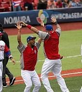 Puerto Rico celebra su invicto en el Clásico Mundial de Béisbol