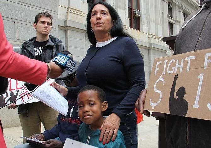 Cheri Honkala recibe apoyos en Filadelfia
