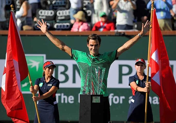 Federer y Vesnina se coronan en Indian Wells