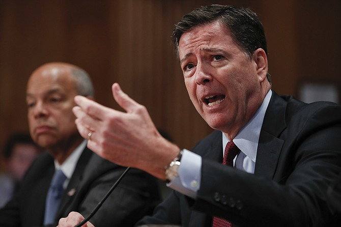 James Comey, director del FBI
