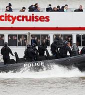 La operación fue con un barco de pasajeros