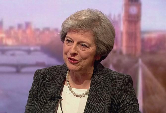 Theresa May activará la salida de Gran Bretaña de la Unión Europea el 29 de marzo