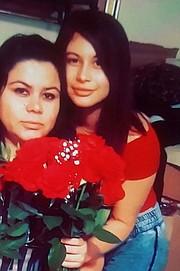 Damaris no había visto a su madre, a la izquierda, en 10 años cuando llegó a Maryland en 2014.