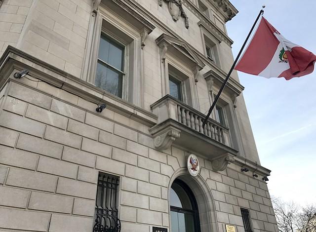 Embajada de Perú en DC abrió cuenta bancaria para apoyar a damnificados