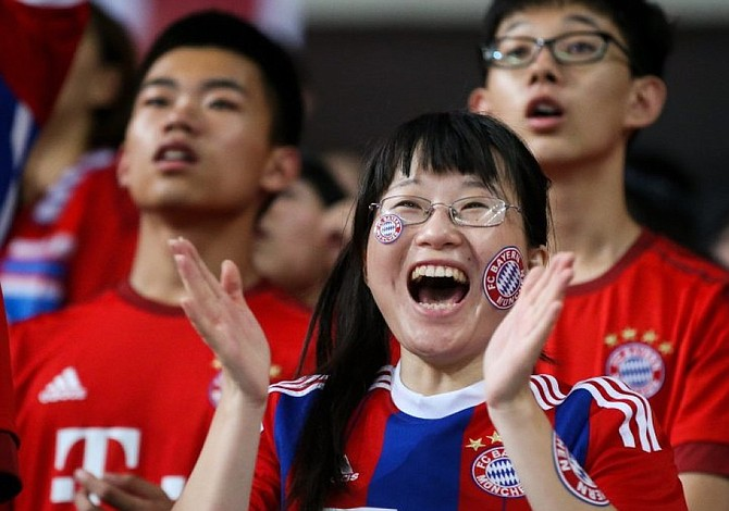 FC Bayern inauguró su primera oficina en China