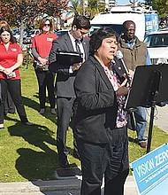 Conferencia sobre las intersecciones más peligrosas de la ciudad de San Diego, realizada durante la primera quincena de febrero. Foto-Archivo: Horacio Rentería/El Latino San Diego.