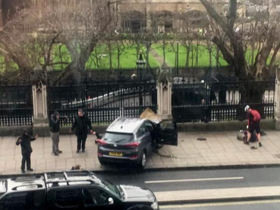 UK prime minister denounces attack on Parliament
