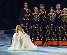 Ucrania alegó que la cantante rusa actuó en Crimea, la península que sigue disputándose con Moscú