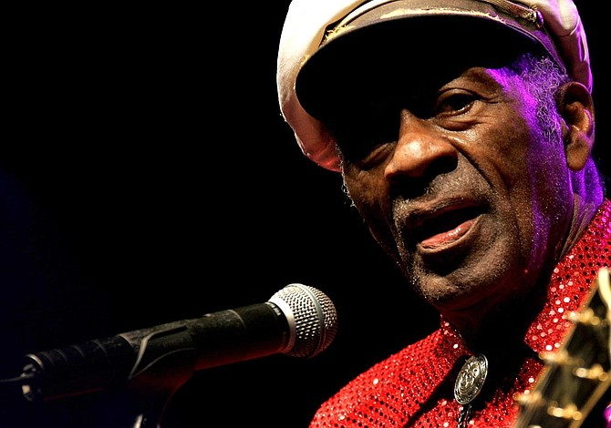 Disco póstumo de Chuck Berry saldrá el 16 de junio