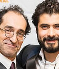 Bruno Bichir y José Ángel Bichir en la noche de apertura del Latino Film Festival.  Foto Cortesía: Media Arts Center Digital Gym/