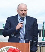 Kevin Mattson, presidente y CEO de San Ysidro Health Center (SYHC). Foto-Archivo: Horacio Rentería/El Latino San Diego.
