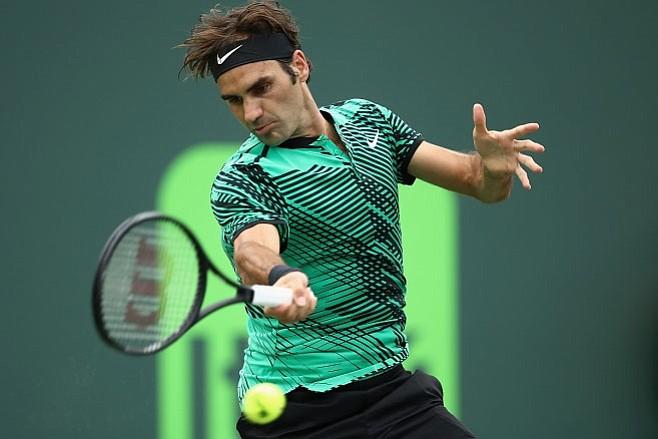 Federer avanzó a segunda ronda del Masters 1000 de Miami