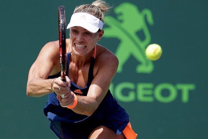 Angelique Kerber vence a Rogers y se va a octavos de Miami