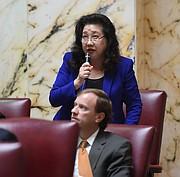La senadora Susan Lee, D-Montgomery, entró en una intensa discusión con activistas chino-estadounidenses recientemente sobre un proyecto de ley de protección a inmigrantes que ayudó a patrocinar.