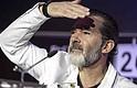 El actor hizo una aparicion en Málaga