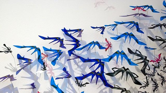 """Instalación """"Fish Out of Water"""", de Bennie Flores Ansell"""