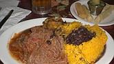 Ropa Vieja es uno de los platillos tradicionales de Cuba
