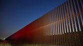 La frontera entre EE.UU y México en Brownsville, Texas.