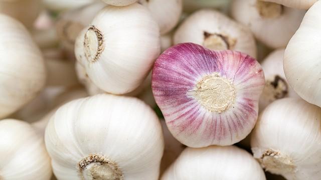 La alicina es el principio activo del ajo, y se produce únicamente al cortar o machacar el ajo. Por ello es recomendable no cocinarlo entero.