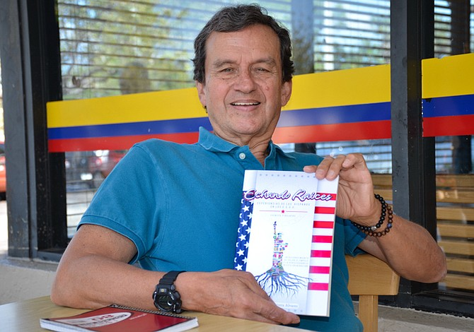 Escritor colombiano lanza libro sobre el inmigrante latino en USA