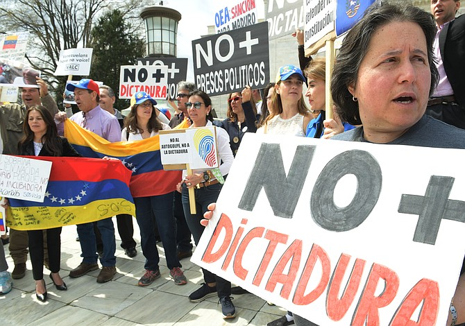 "Editorial del Washington Post: El ""diálogo"" no rescatará a Venezuela"
