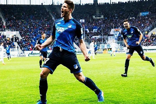 Hoffenheim derrotó por primera vez en su historia al Bayern Münich