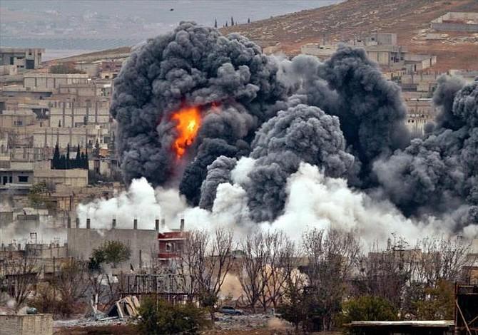 EEUU lanza potente ataque contra base aérea del gobierno sirio