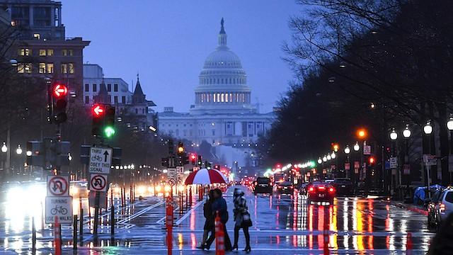 CAPITOLIO. Bajo el techo del Capitolio, Washington, DC no cuenta con un voto real que represente a sus residentes.