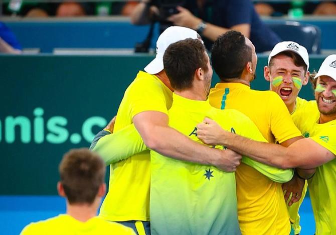 Australia beats US in Davis Cup