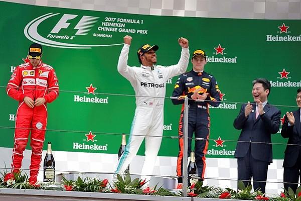 Lewis Hamilton toma revancha y conquista el Gran Premio de China