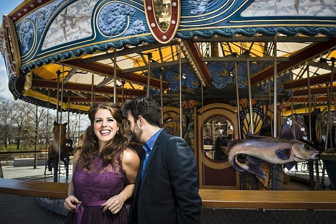 """Emily Birsan como Susanna y Evan Hughes como Fígaro, formarán parte de la nueva producción de """"Las Bodas de Fígaro"""" de Boston Lyric Opera"""