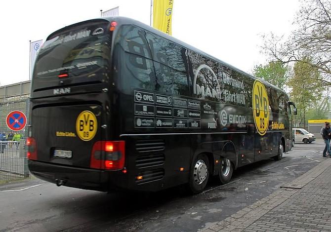 Cancelado el Borussia-Mónaco tras explosiones junto al autobús del Borussia