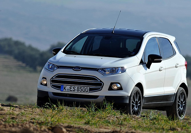 Ford producirá su EcoSport para Europa en Rumanía