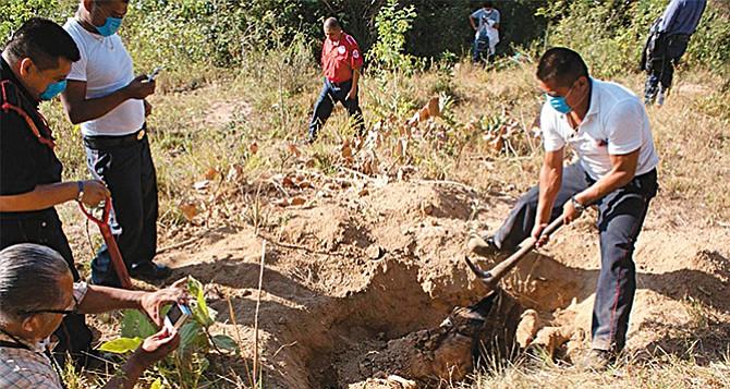 Hay en el país  casi 900 fosas clandestinas