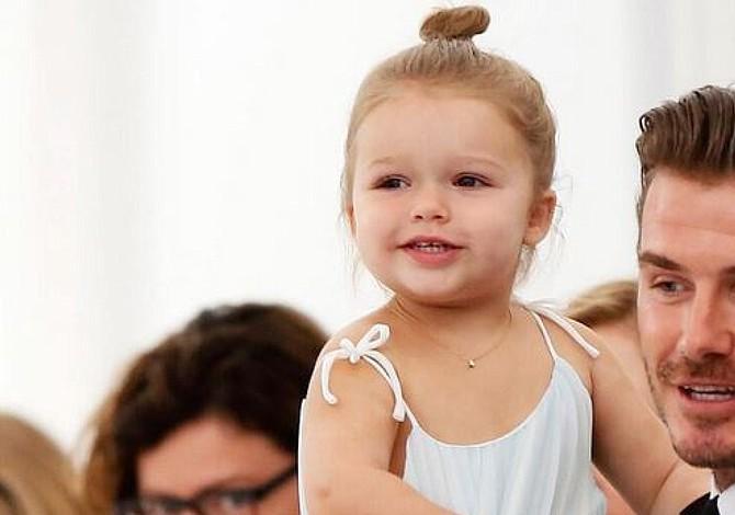 Victoria Beckham registra el nombre de su hija, Harper