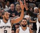 Los Spurs de San Antonio comenzaron los playoff con un triunfo