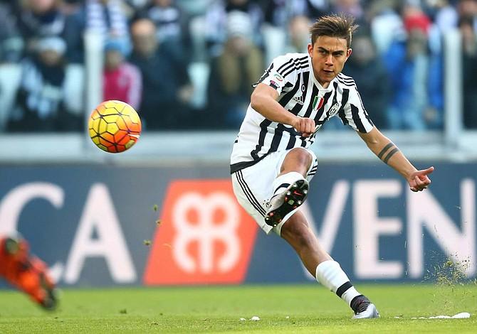 Dybala se entrena con el Juventus a un día del duelo de Camp Nou