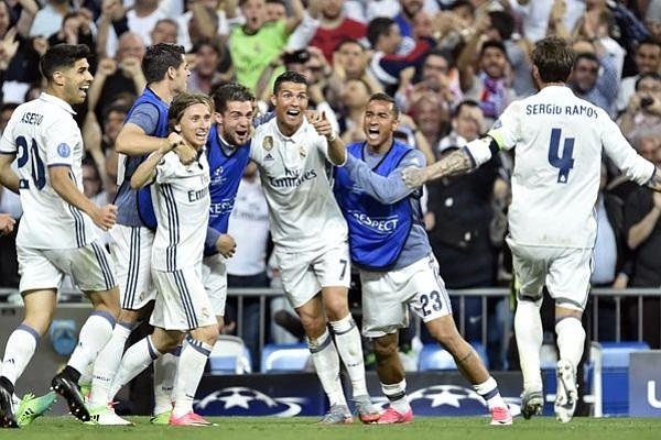 Con 3 goles de Ronaldo, Real Madrid ganó 4-2 al Bayern y avanza en Champions