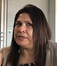 ROBO DE IDENTIDAD. Dora Beltrán de CARECEN dijo que hay casos de robos de identidad de inmigrantes residentes y con documentos.