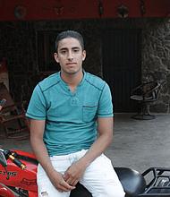 Juan Manuel Montes Bojorquez, de 23 años.