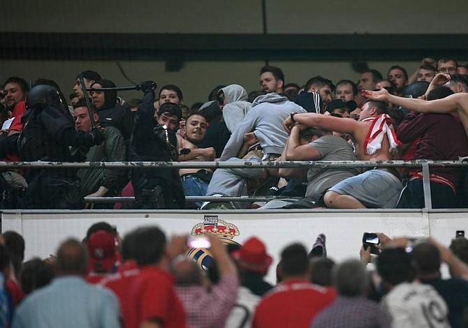 El Bayern se quejó ante UEFA por policía española