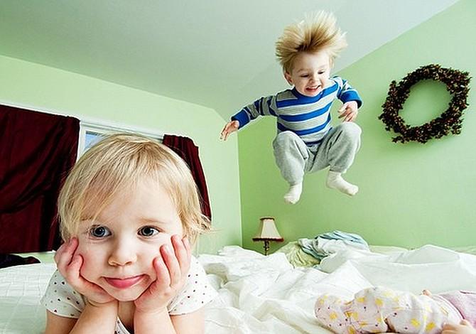 Niños hiperactivos sufren trastorno cerebral