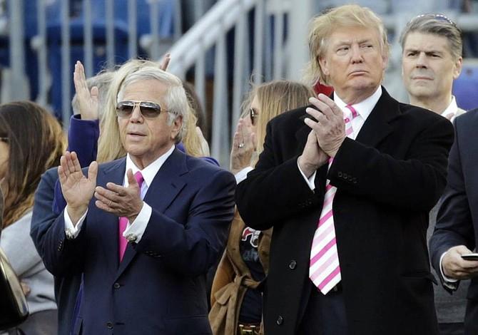 Varios jugadores faltaron a homenaje de Trump a Patriots