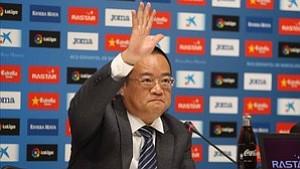 El presidente Chen llega el viernes para supervisar la gestión del Espanyol