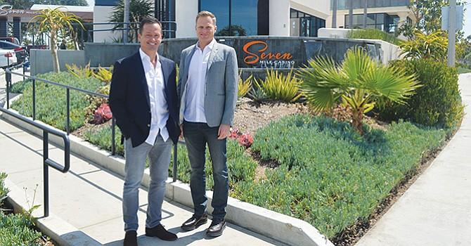 Masis Kevorkian y Ryan Stone, dos empresarios visionarios. Foto: Horacio Rentería/El Latino San Diego.