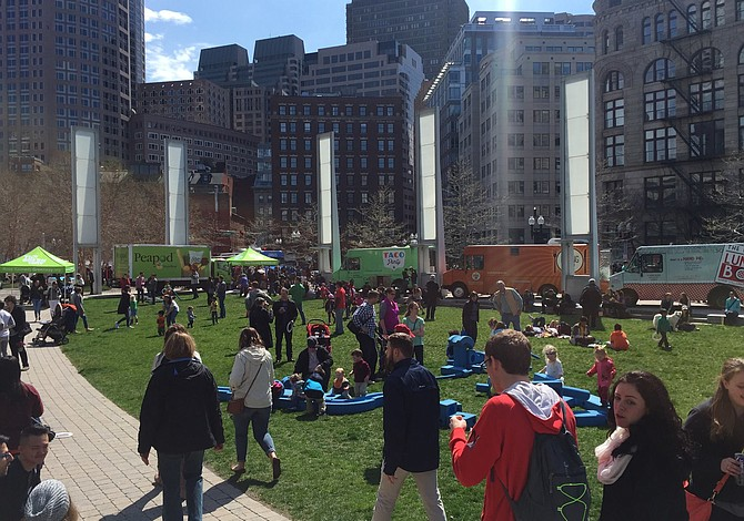 Regresa el Festival de Foodtrucks del Greenway de Boston